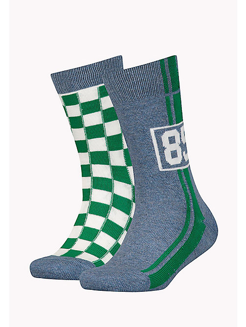 TOMMY HILFIGER 2-Pack Racing Socks - JEANS - TOMMY HILFIGER Shoes & Accessories - main image
