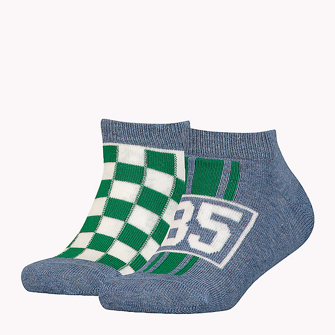 TOMMY HILFIGER Doppelpack Racing Socken - MIDNIGHT BLUE - TOMMY HILFIGER Kinder - main image