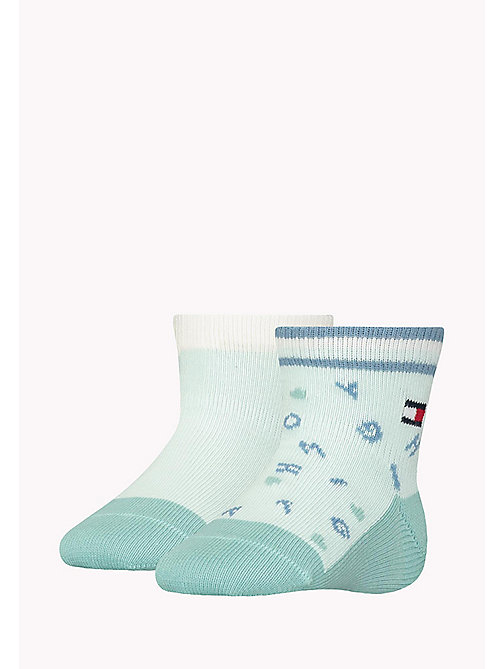 TOMMY HILFIGER 2-Pack Sprinkles Socks - MISTY JADE - TOMMY HILFIGER Boys - main image