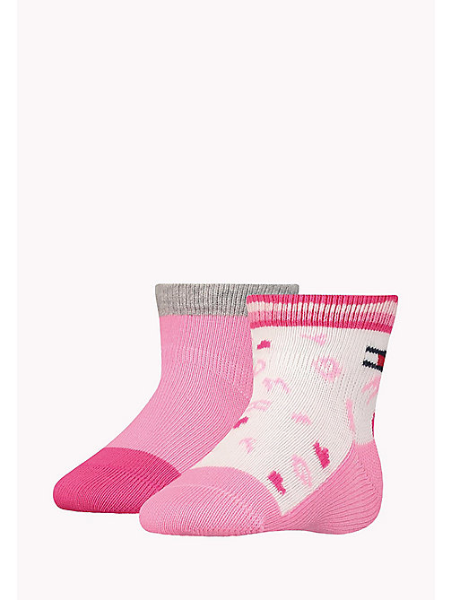 TOMMY HILFIGER 2-Pack Sprinkles Socks - PINK LADY - TOMMY HILFIGER Girls - main image