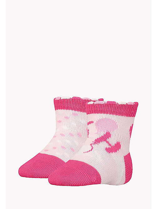 TOMMY HILFIGER 2-Pack Baby Balloons Socks - PINK LADY - TOMMY HILFIGER Girls - main image