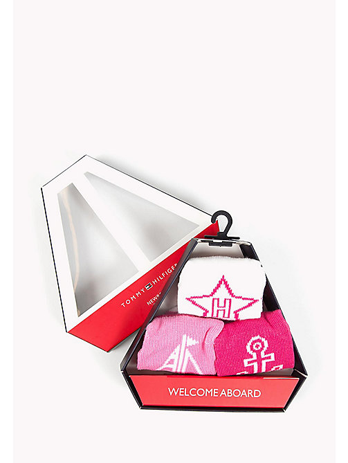 TOMMY HILFIGER 3-Pack Newborn Socks Gift Box - PINK LADY - TOMMY HILFIGER Girls - detail image 1