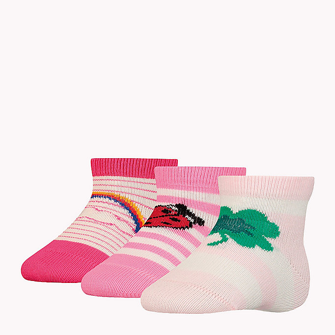 TOMMY HILFIGER 3-Pack Lucky Charms Sock Giftbox - MIDNIGHT BLUE - TOMMY HILFIGER Kids - detail image 2