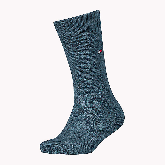 TOMMY HILFIGER TH KIDS HOMESOCK 1P - MIDNIGHT BLUE - TOMMY HILFIGER Kinderen - main image