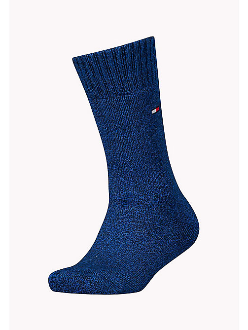 TOMMY HILFIGER TH KIDS HOMESOCK 1P - MIDNIGHT BLUE - TOMMY HILFIGER Accessories - main image