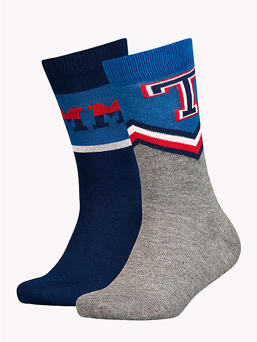 TOMMY HILFIGER 2-Pack Kids' Logo Socks - TOMMY ORIGINAL - TOMMY HILFIGER Underwear & Socks - main image