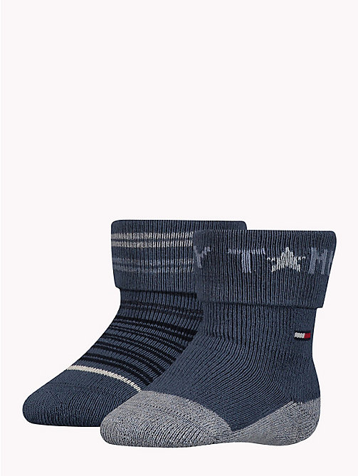 TOMMY HILFIGER 2-Pack Baby Socks - MIDNIGHT BLUE - TOMMY HILFIGER Boys - main image