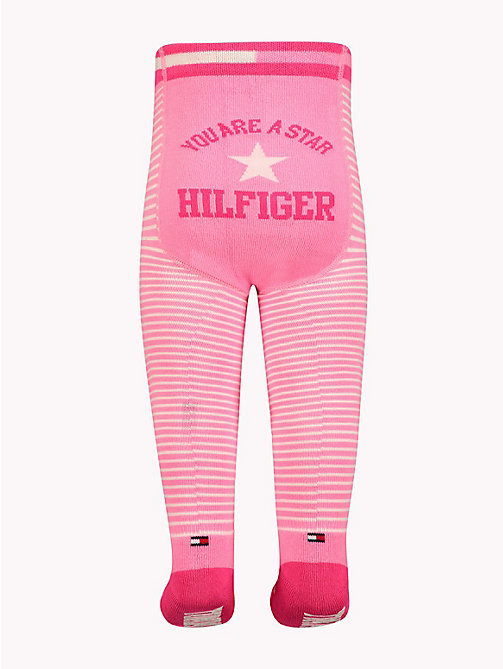 TOMMY HILFIGER Baby Stars And Stripes Tights - ROSE MELANGE - TOMMY HILFIGER Boys - detail image 1