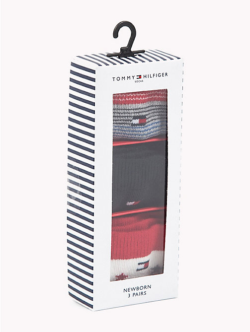 TOMMY HILFIGER 3-Pack Newborn Socks - TOMMY ORIGINAL - TOMMY HILFIGER Boys - detail image 1