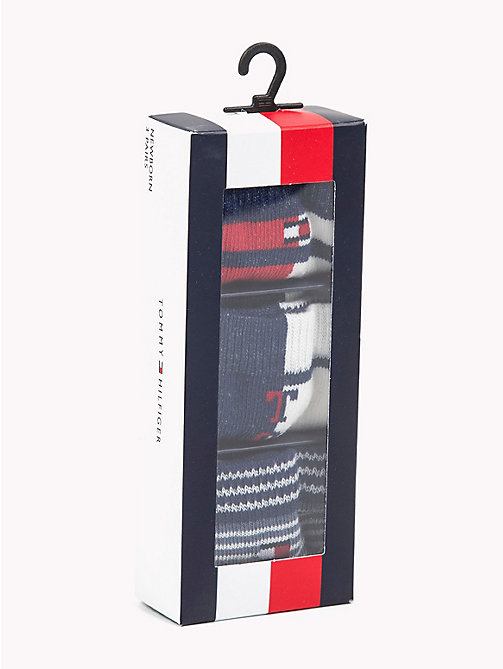 TOMMY HILFIGER 3-Pack Baby Stripe Socks - TOMMY ORIGINAL - TOMMY HILFIGER Boys - detail image 1