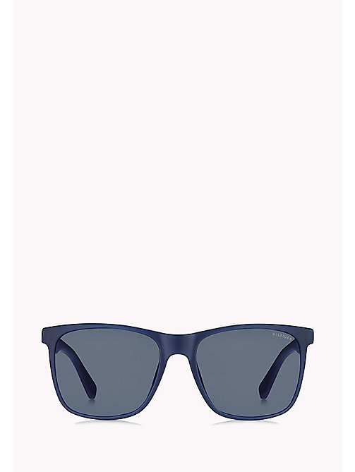 TOMMY HILFIGER Rectangular Sunglasses - BLUE/BLUE AVIO - TOMMY HILFIGER Sunglasses - detail image 1