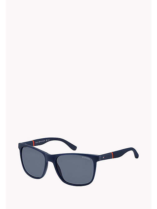TOMMY HILFIGER Rectangular Sunglasses - BLUE/BLUE AVIO - TOMMY HILFIGER Sunglasses - main image