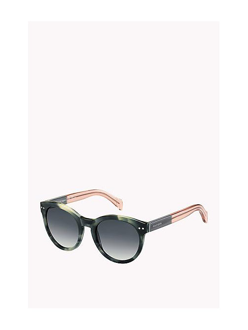 TOMMY HILFIGER Boston Sunglasses - GREY HAVANA PINK - TOMMY HILFIGER Sunglasses - main image