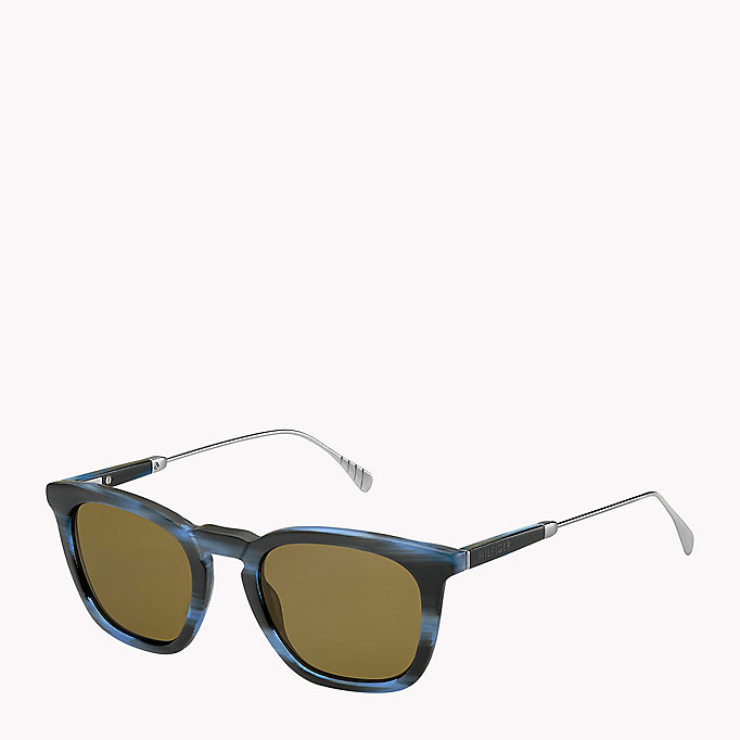 TOMMY HILFIGER Acetate Sunglasses - HORN GOLD - TOMMY HILFIGER Men - main image