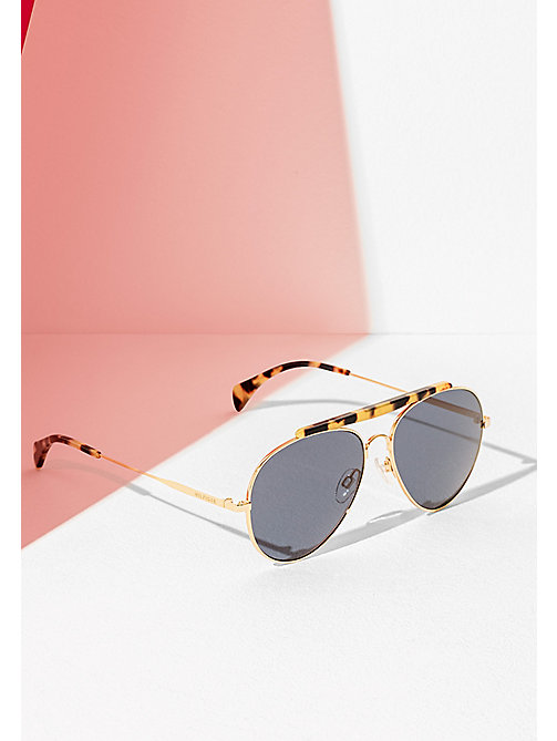 TOMMY HILFIGER Aviator Sunglasses - ROSE GOLD - TOMMY HILFIGER Sunglasses - main image