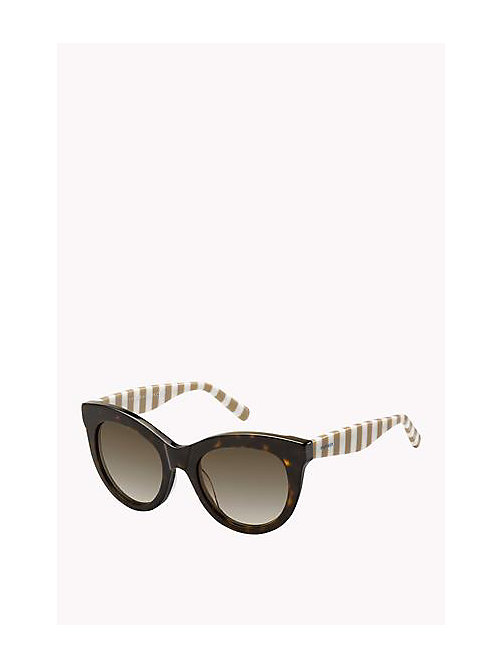 Cat Eye Sunglasses - HAVN BRWN/BROWN SHADED - TOMMY HILFIGER Sacs & Accessoires - image principale