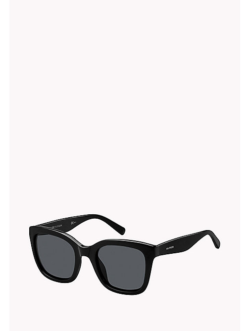 TOMMY HILFIGER Squared Sunglasses - BLACK 2  /GREY BLUE - TOMMY HILFIGER Bags & Accessories - main image