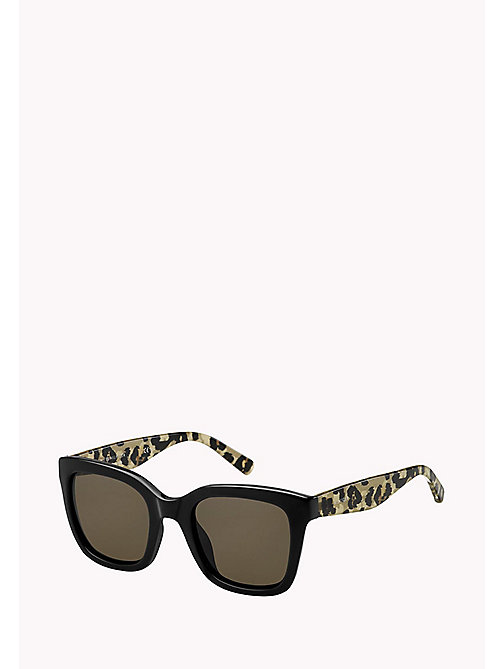 TOMMY HILFIGER Squared Sunglasses - BK ANIMPR/BROWN - TOMMY HILFIGER Bags & Accessories - main image