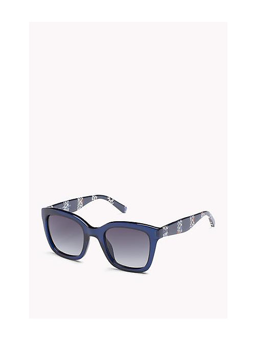 TOMMY HILFIGER Squared Sunglasses - BLUE/DARK GREY SHADED - TOMMY HILFIGER Women - main image