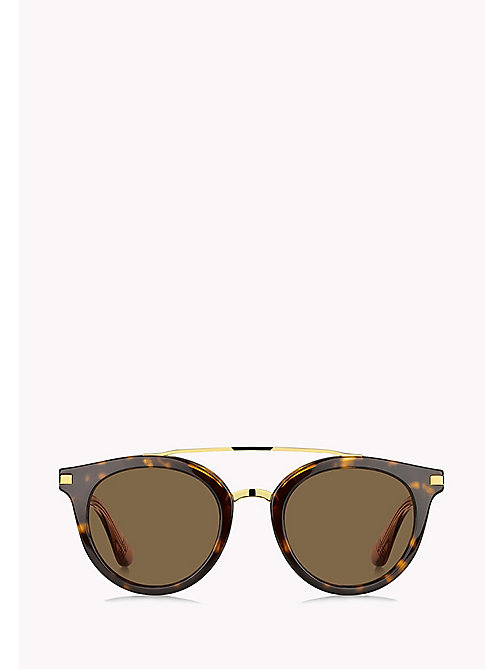 TOMMY HILFIGER Round Sunglasses - DKHAVANA /BROWN - TOMMY HILFIGER Sunglasses - detail image 1