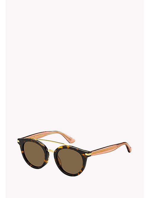 TOMMY HILFIGER Round Sunglasses - DKHAVANA /BROWN - TOMMY HILFIGER Sunglasses - main image