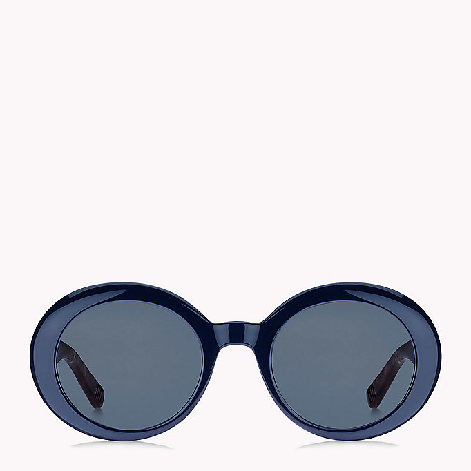 TOMMY HILFIGER Oval Sunglasses - PANTH BRW/BROWN - TOMMY HILFIGER Women - detail image 1