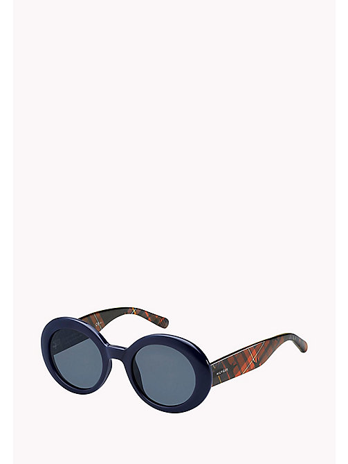TOMMY HILFIGER Oval Sunglasses - BLUE / BLUE AVIO - TOMMY HILFIGER Sunglasses - main image