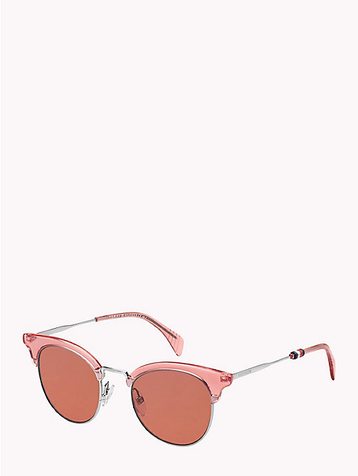 TOMMY HILFIGER Cat-Eye Sunglasses - PINK / PINK - TOMMY HILFIGER VACATION FOR HER - main image