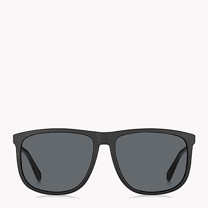 TOMMY HILFIGER Large Frame Classic Sunglasses - DARK HAVANA/BROWN SHADED - TOMMY HILFIGER Men - detail image 1