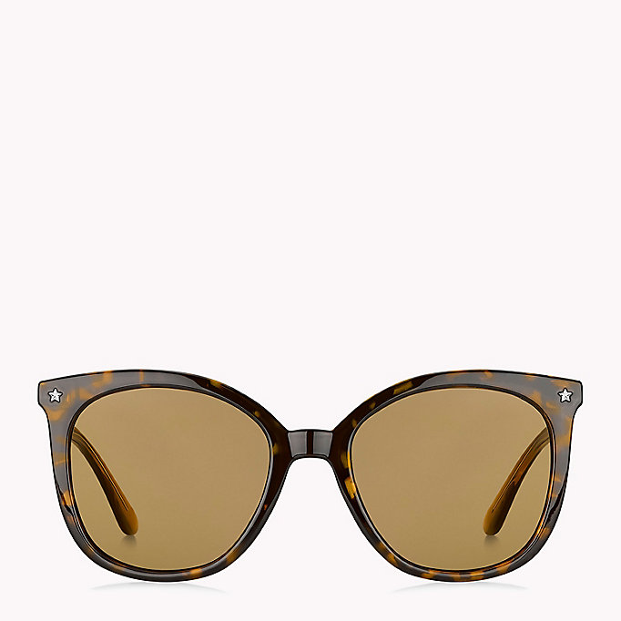 TOMMY HILFIGER Star Sunglasses - BLACK/GREY BLUE - TOMMY HILFIGER Women - detail image 1