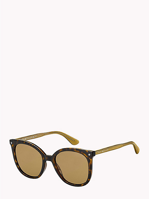 TOMMY HILFIGER Star Sunglasses - DARK HAVANA / BROWN - TOMMY HILFIGER VACATION FOR HER - main image