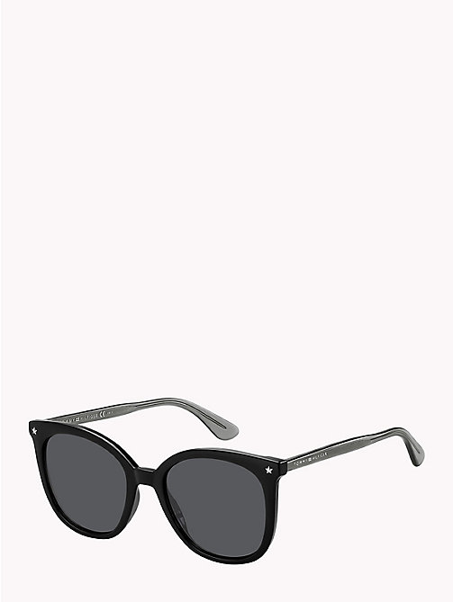 TOMMY HILFIGER Star Sunglasses - BLACK / GREY BLUE - TOMMY HILFIGER VACATION FOR HER - main image