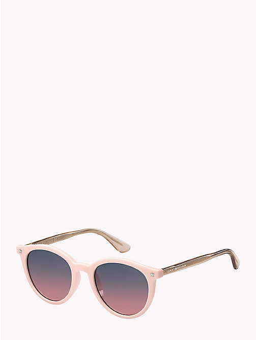 TOMMY HILFIGER Star Teacup Sunglasses - PINK / GREY FUCHSIA - TOMMY HILFIGER Sunglasses - main image