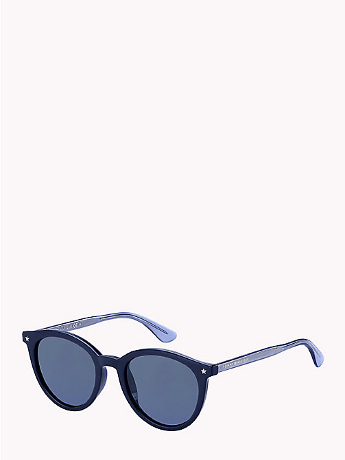 TOMMY HILFIGER Star Teacup Sunglasses - BLUE/BLUE AVIO - TOMMY HILFIGER Sunglasses - main image
