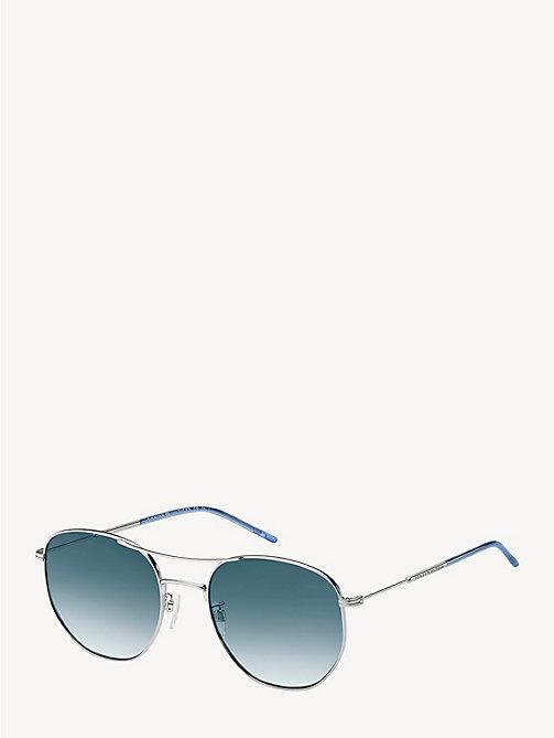 60ca7d2a35d5 TOMMY HILFIGERLighweight Rounded Sunglasses. €140.00. PALLADIUM. x