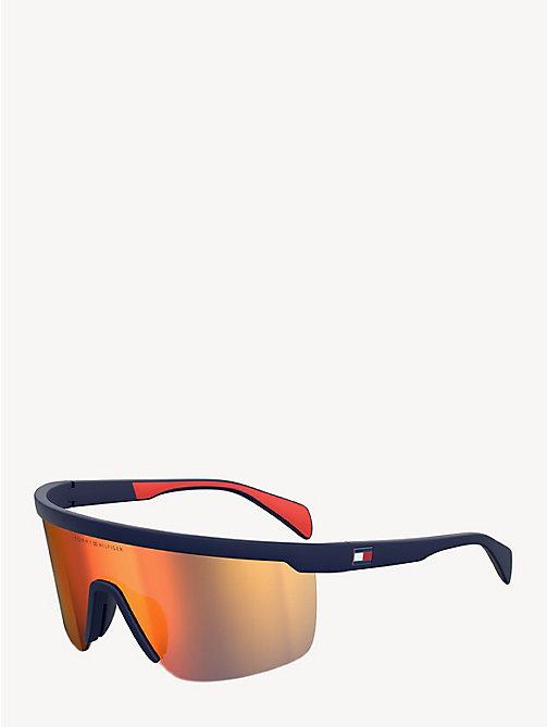 79b23bc427d3 TOMMY HILFIGERWrap Mask Sunglasses
