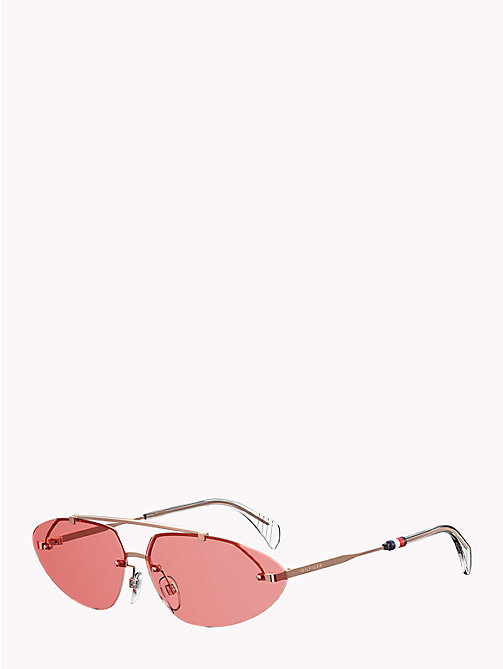 TOMMY HILFIGER Lunettes de soleil cat eye Pinnacle - COPPER GOLD  PINK - TOMMY  HILFIGER ... e9ab45ef4a96