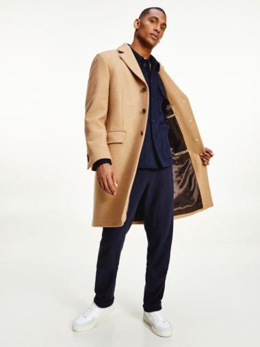 Tommy X Lardini slim fit jas van zuivere wol