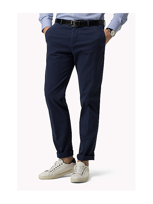 TOMMY HILFIGER Garment Dyed Jacquard Chinos - 425 -  Men - main image