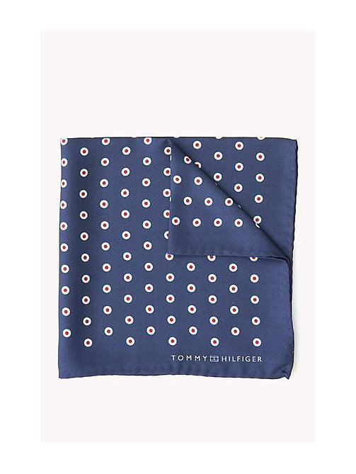 TOMMY HILFIGER Silk Pocket Square - 420 - TOMMY HILFIGER Bags & Accessories - main image