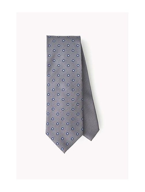 TOMMY HILFIGER Dotted Silk Tie - 025 - TOMMY HILFIGER Bags & Accessories - main image