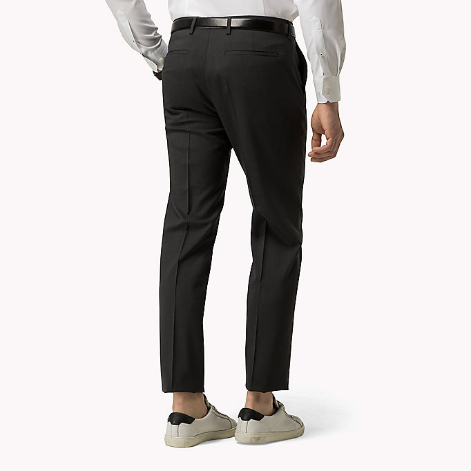 TOMMY HILFIGER Suit Separate Slim Fit Trousers - 427 - TOMMY HILFIGER Men - detail image 1