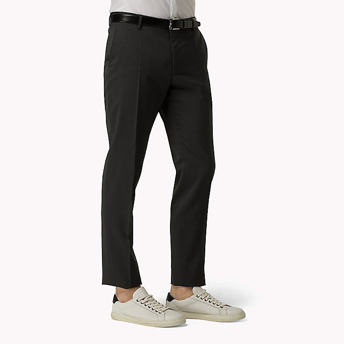 TOMMY HILFIGER Suit Separate Slim Fit Trousers - 427 - TOMMY HILFIGER Clothing - detail image 2