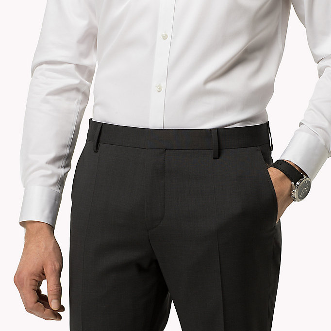 TOMMY HILFIGER Suit Separate Slim Fit Trousers - 427 - TOMMY HILFIGER Clothing - detail image 3