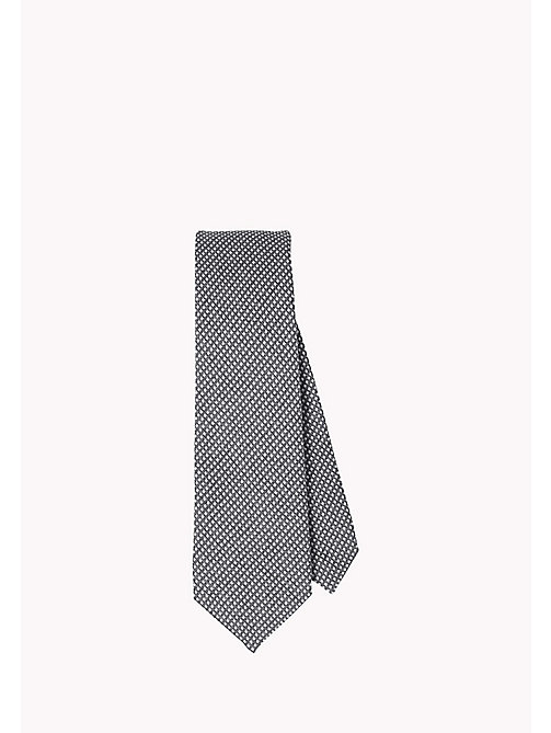 TOMMY HILFIGER Cotton Silk Tie - 015 - TOMMY HILFIGER Bags & Accessories - main image