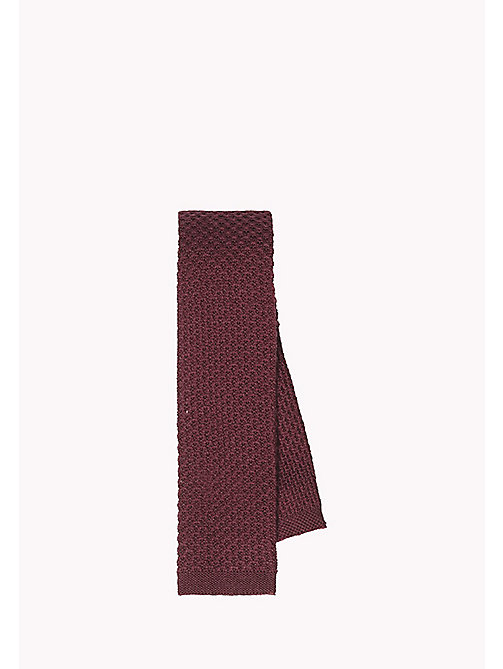 TOMMY HILFIGER Wool Knit Tie - 620 - TOMMY HILFIGER Bags & Accessories - main image