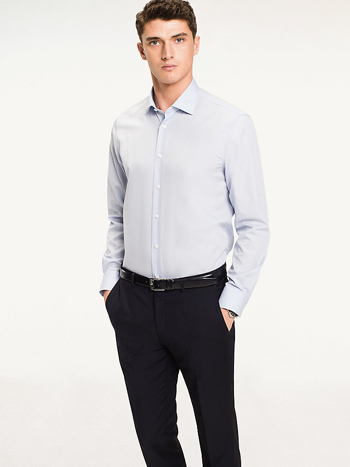 TOMMY HILFIGER Jhn Fitted Shirt - 100 - TOMMY HILFIGER Clothing - detail image 1