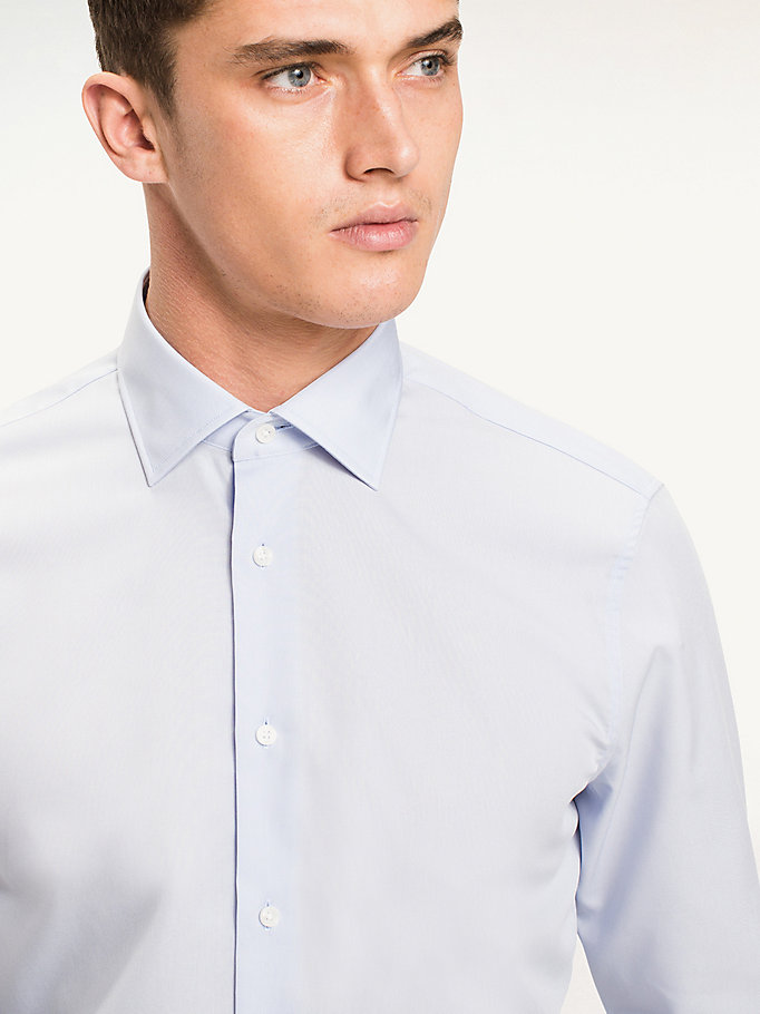 TOMMY HILFIGER Jhn Fitted Shirt - 100 - TOMMY HILFIGER Clothing - detail image 3