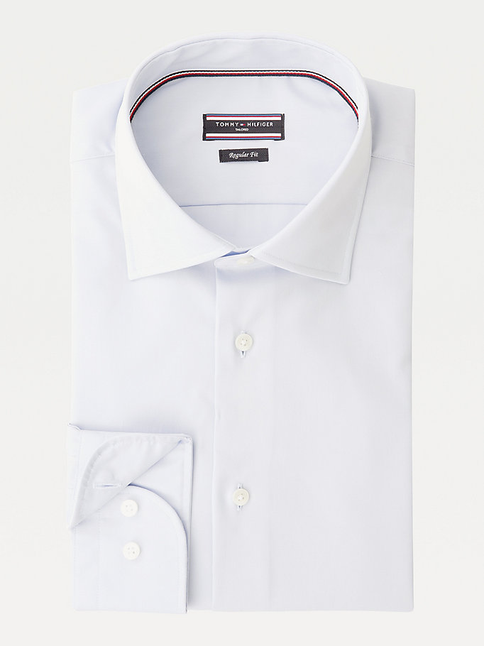 TOMMY HILFIGER Jhn Fitted Shirt - 100 - TOMMY HILFIGER Clothing - main image