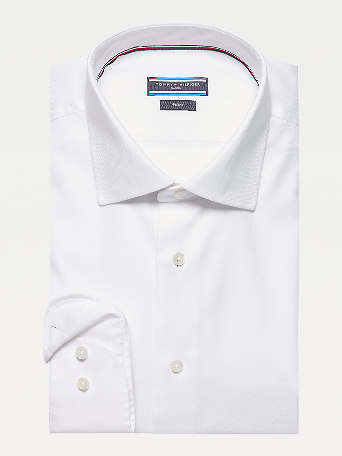 TOMMY HILFIGER Jhn Fitted Shirt - 415 - TOMMY HILFIGER Clothing - main image